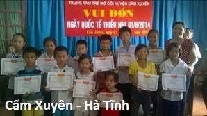 Trung tâm Bảo trợ trẻ mồ côi sống trong cộng đồng Cẩm Xuyên - Hà Tĩnh (fea.ceporer.camxuyen)